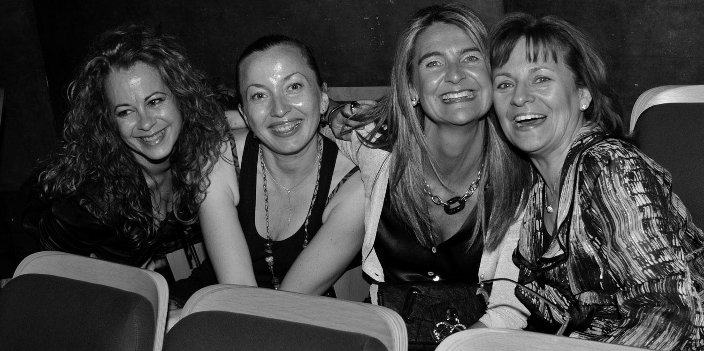 Rosa, Marisa, Maite, Marina