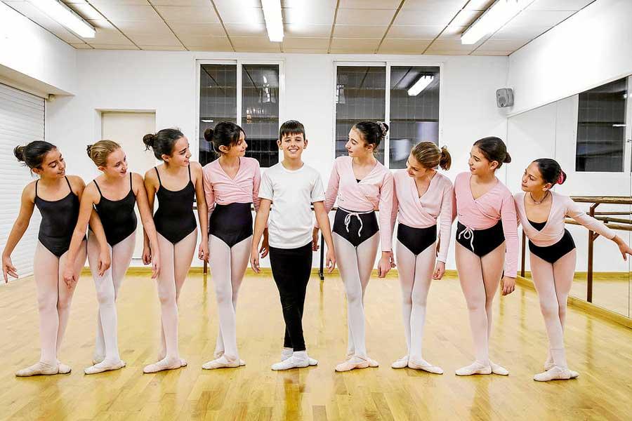 Alumnes examinats per la Royale Academy of Dance